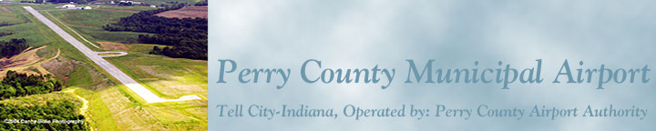 Perry County Municipal airport banner